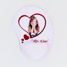 Mouse Pad com Descanso